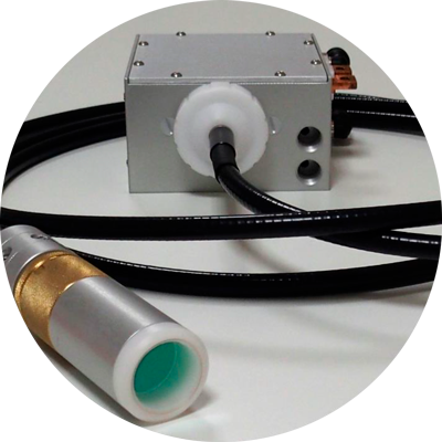 liquid fiber laser