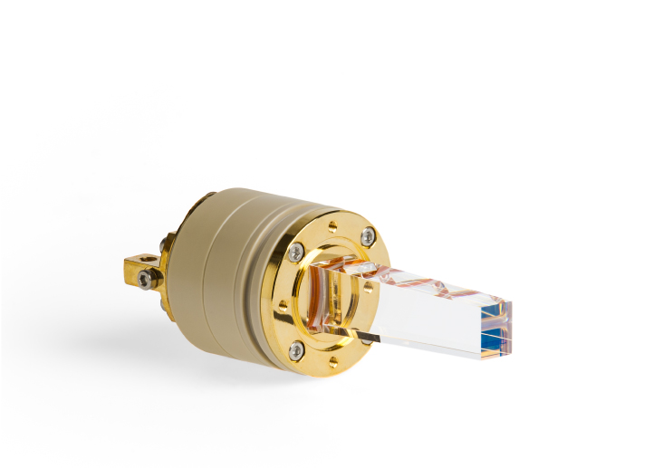 laser diode with prism